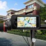 2 In 1 Waterproof Bike/Bicycle/Motorcycle Handbar Phone Mount Detachable Case For iPhone 7 Plus