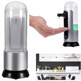 300ml Electronic Touchless Automatic Induction Soap Dispenser Bathroom Auto Sensor Liquid Sanitizer