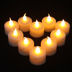 1 Pcs Led Lights Candles Flameless Tea Candle Lamp Light Electronic Candle Party Home Wedding Decor