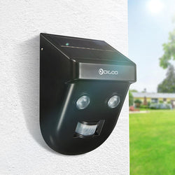 Digoo DG-SSR-1 Gardening Solar Wireless PIR Sensor Long-Distance Waterproof Outdoor Wall Light