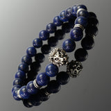 20cm Stretch Elastic Lion Head Bracelet For Men Jewelry Accessories