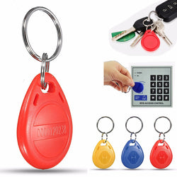 100Pcs 125Khz RFID Proximity ID Card Key Fobs Token Tags Safe Keyfobs