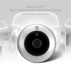 Digoo DG-UFC H.265 HD 1080P 2.8mm 180 Degree Wireless WIFI Night Vision Smart IP Security Camera