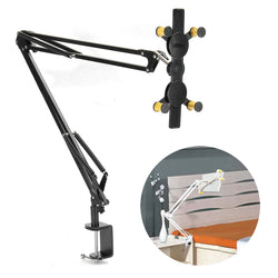 Telescopic Mount Holder Bracket Set Adjustable Angle Extended For iPad Tablet