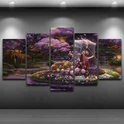 Artistic Canvas Print Painting HD Printed Animation Japan Style Painting Drawing room wall decor bedroom Framed Wall art AE0008