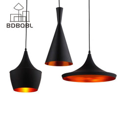 BDBQBL 3 Pieces/Set Vintage Pendant Lights LOFT Lamp Avize Nordic Pendant Lamp Suspension Luminaire Home Industrial Lighting