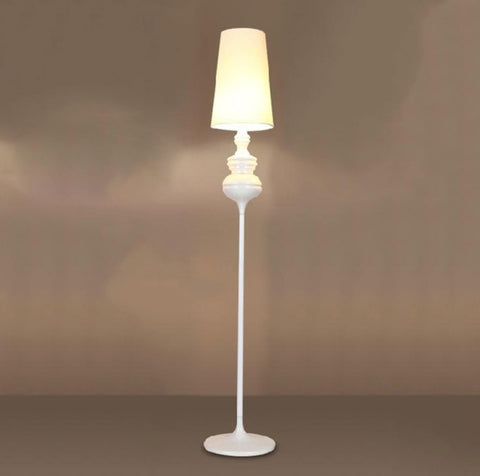 BDBQBL Modern Floor Lamp Retro Bedroom Living Room Standing Lamp Fashion  Study Hotel Gold LED Floor