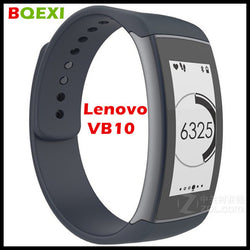 (BQEXI) Lenovo Smart Band Vibe Band VB10 Push Message Pedometer Call Reminder Smart Bracelet Lenovo VB10 E-ink Display Screen