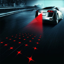 CAR ANTI-COLLISION LASER FOG LIGHT AUTO ANTI-FOG PARKING STOP BRAKE LIGHT