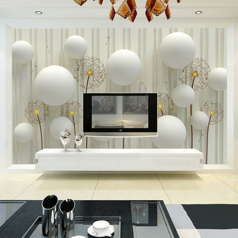 Custom Mural Wallpaper 3D Stereoscopic Abstract Art Large Wall Painting  Living Room Bedroom TV Background Non ...