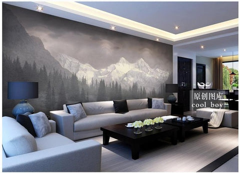 Customized 3d photo wallpaper for walls 3 d wall murals Snow