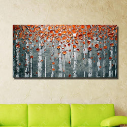 Free Shipping Oil Painting Modern Oil Painting Palette Knife Modern Paintings Several Style Wall Pictures For Living Room
