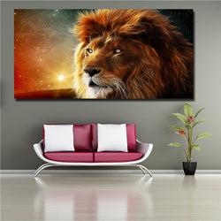 HD Print Animal Lion Picture Modern Painting Print On Canvas Wall Art Prints Posters Home Decor For Living Room Unframed