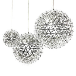 LED Creative personality restaurant chandelier led chandelier ball spark Nordic minimalist living room chandelier restaurant