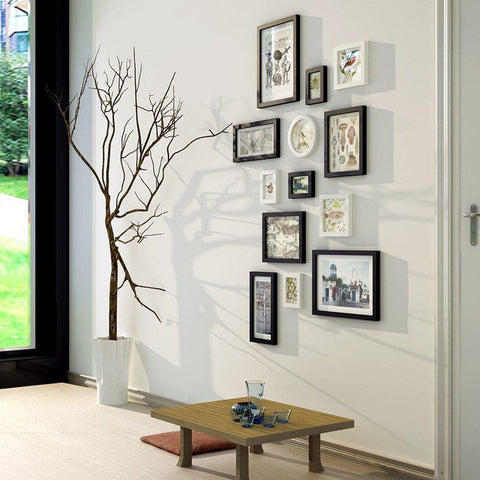 unik solid wood photo frame wall american style painting multi frame picture frames for paintings - Multi Picture Photo Frames