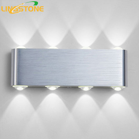 Modern Wall L& Bedroom Bathroom Led Wall Light For Home Lighting Up Down Wall Sconce Lighting ... : led wall sconce lighting - www.canuckmediamonitor.org
