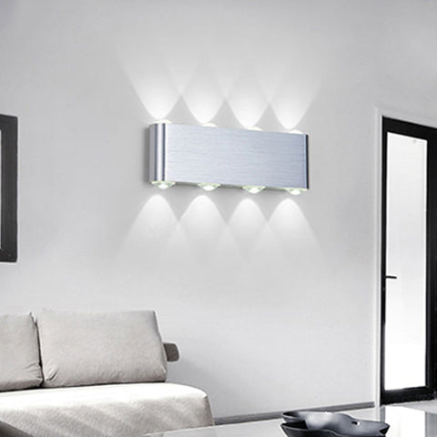... Modern Wall Lamp Bedroom Bathroom Led Wall Light For Home Lighting Up  Down Wall Sconce Lighting ...
