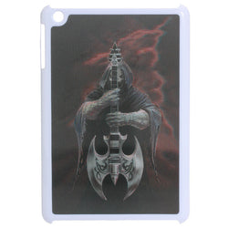 Cold Death With Guitar 3D Effect Pattern Plastic Case For iPad Mini