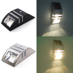 Stainless Steel Solar Power Highlight LED PIR Induction Wall Light