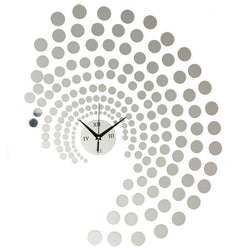 Peacock Dot DIY Wall Clock Home Decoration Acrylic Wall Stickers