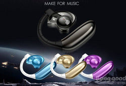 Aminy UFO Bluetooth 4.0 Stereo Headset Earphone Two Battery Voice Control 3D Sound