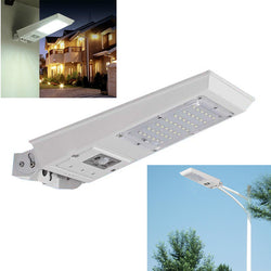 Super bright 2520lm Outdoor 20W Waterproof Motion Sensor Solar Powered LED Pole Wall Street Light 3 working mode
