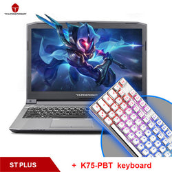 "ThundeRobot ST-plus Gaming Laptops Send A Keyboard As A Gift Nvidia GTX1050 Intel Core i7 7700HQ 15.6"" 8GB RAM 256GB SSD Backlit"