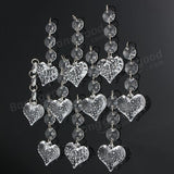 10 PCS Wedding Party Indoor Acrylic Crystal Beads Garland Chandelier Lamp Hanging Decor acs
