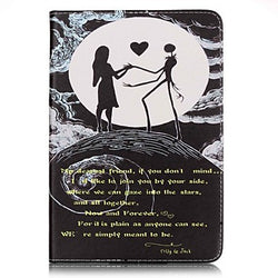Full Body Card Holder / Wallet Word/Phrase PU Leather Hard Case Cover For Apple iPad Mini 4 / iPad Mini 3/2/1