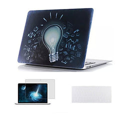 "3 in 1 Full Body Hard Case +Screen Protector+TPU Keyboard Cover for Macbook Air 11"" Pro 13""/15"""