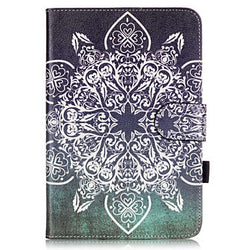 PU Leather Material Full Flower Embossed  Pattern Tablet Sleeve for iPad mini 4