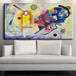 xdr603 Wassily Kandinsky Painting DIY frame art posters Print Canvas art prints 24x48 inch Wall Decor