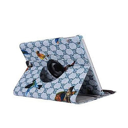 7.9 Inch Bird Pattern 360 Degree Rotation PU Leather Case for iPad mini 4(Assorted Colors)