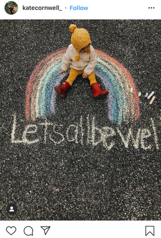 Chalk Your Walk - @katecornwell_ on Instagram