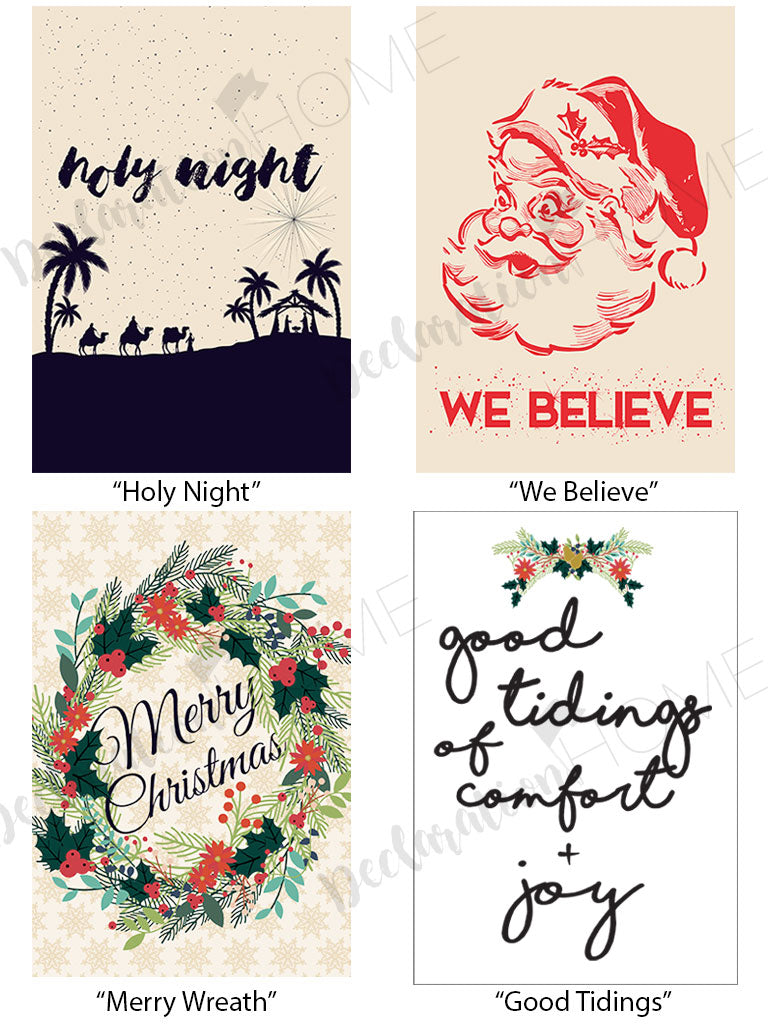 We Believe Christmas | Art Print