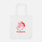 We Believe Santa - Large Holiday Gift Tote