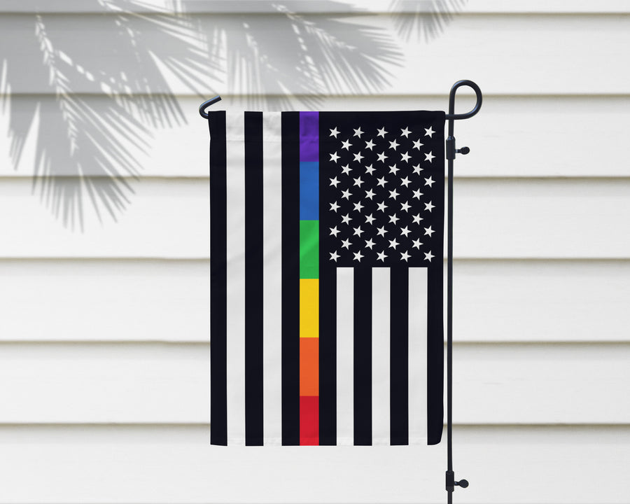 American Pride LGBTQ Flag + Wall Hanging - Multiple Options Available!