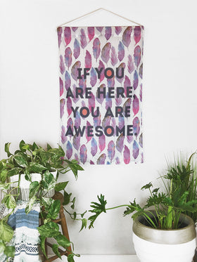 You Are Awesome | Large Wall Hanging