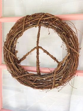 Boho Peace<br>Wreath