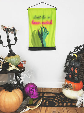 Basic Witch Halloween | Small Wall Hanging