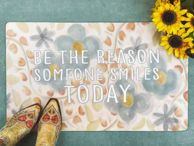 Be the Reason Inspirational Accent Doormat, Door Mat, Bath Mat