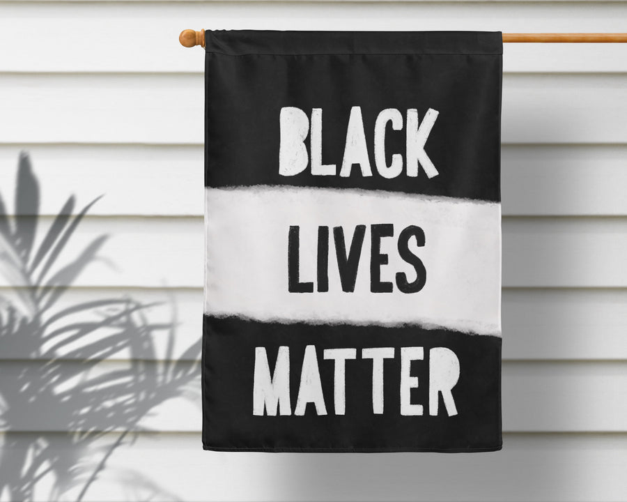 Black Lives Matter Garden Flag + Wall Hanging - Multiple Options Available!
