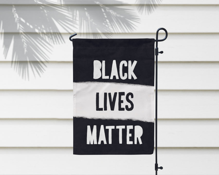 Black Lives Matter | Garden Flag + Wall Hanging - 2 Sizes!