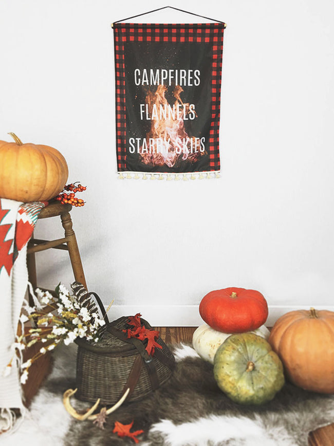 Campfire Nights | Small Wall Hanging