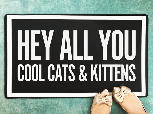 Cool Cats & Kittens - Accent Mat - Multiple Sizes!