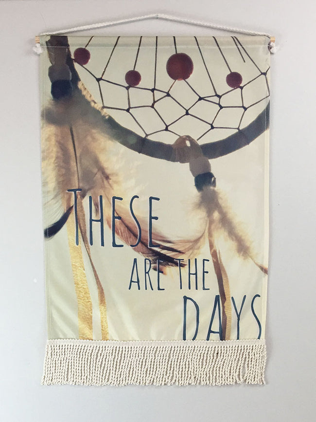 Dreamcatcher Days | Small Wall Hanging