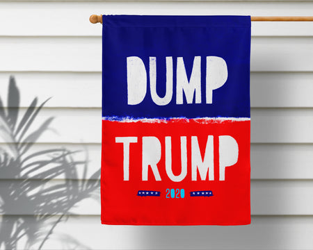 Dump Trump Election 2020 Flag + Wall Hanging - Multiple Options Available!