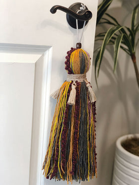 Extra Large Decorative Hanging Tassel Jewel Colors