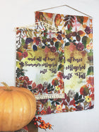 Fall Bouquet | Outdoor House Flag