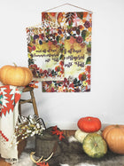 Fall Bouquet | Small Wall Hanging